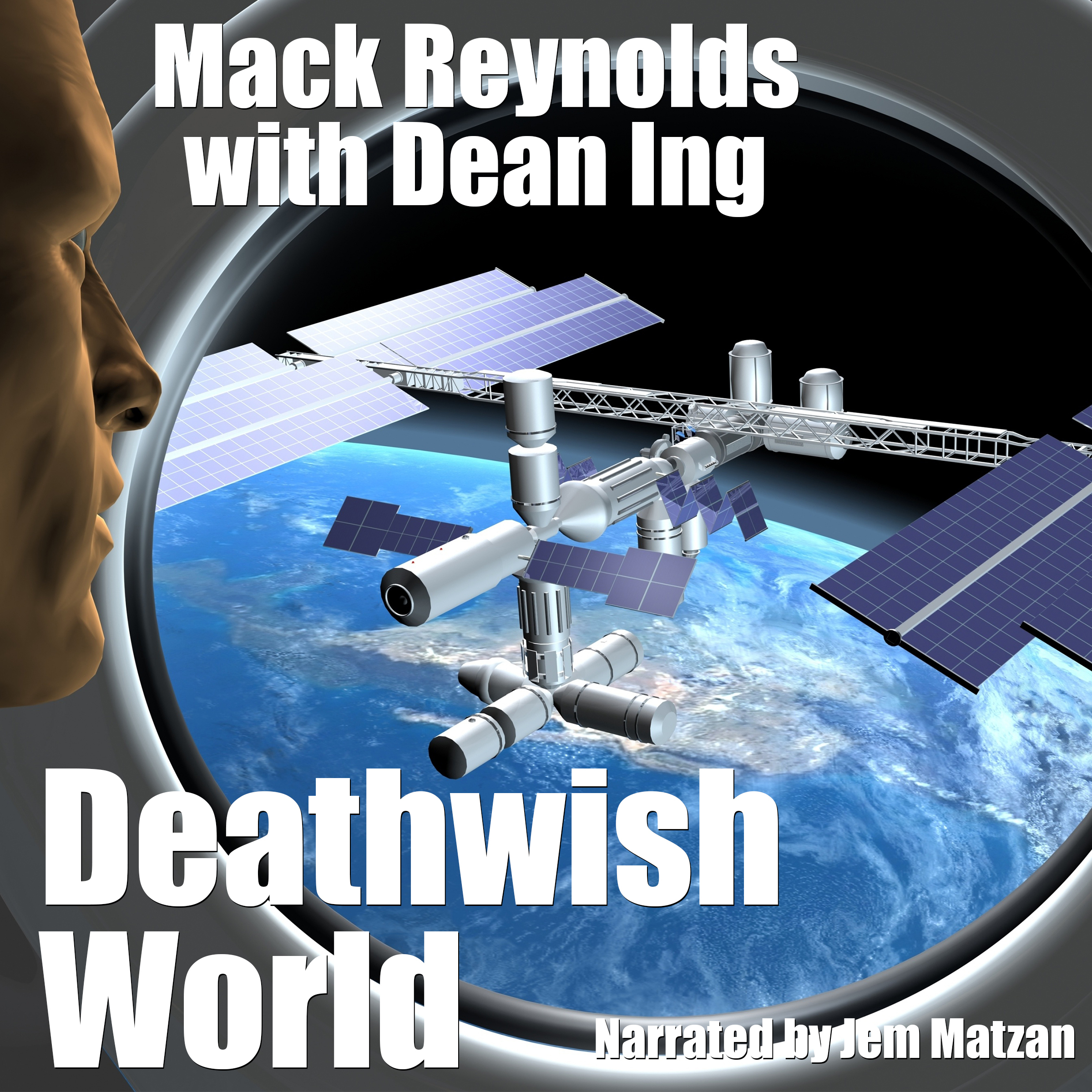 Deathwish World sci-fi cover art