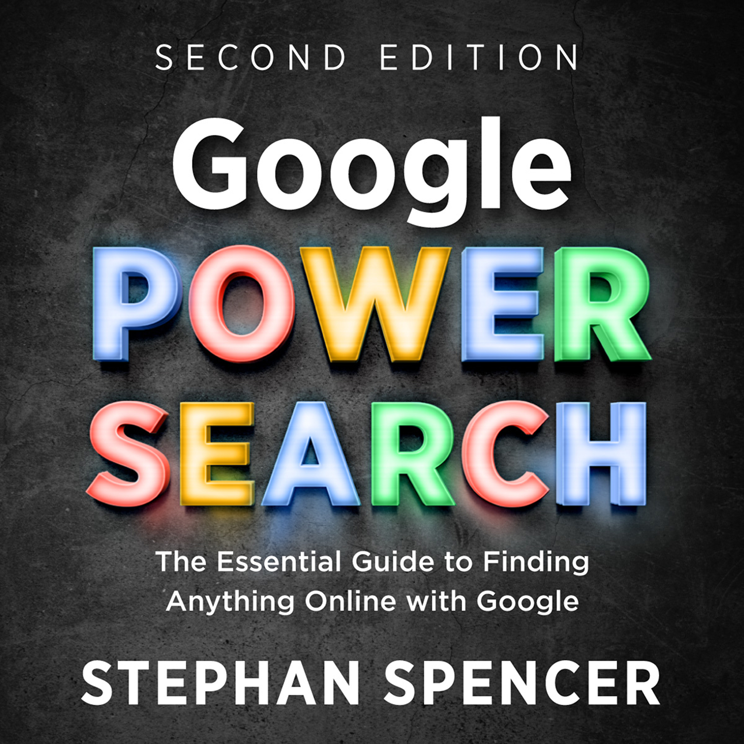 Google Power Search audiobook cover art