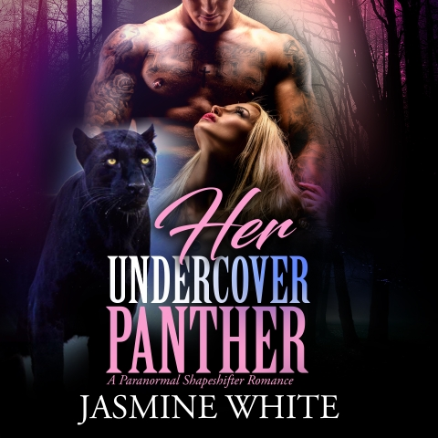 Her Undercover Panther shapeshifter romance audiobook cover art