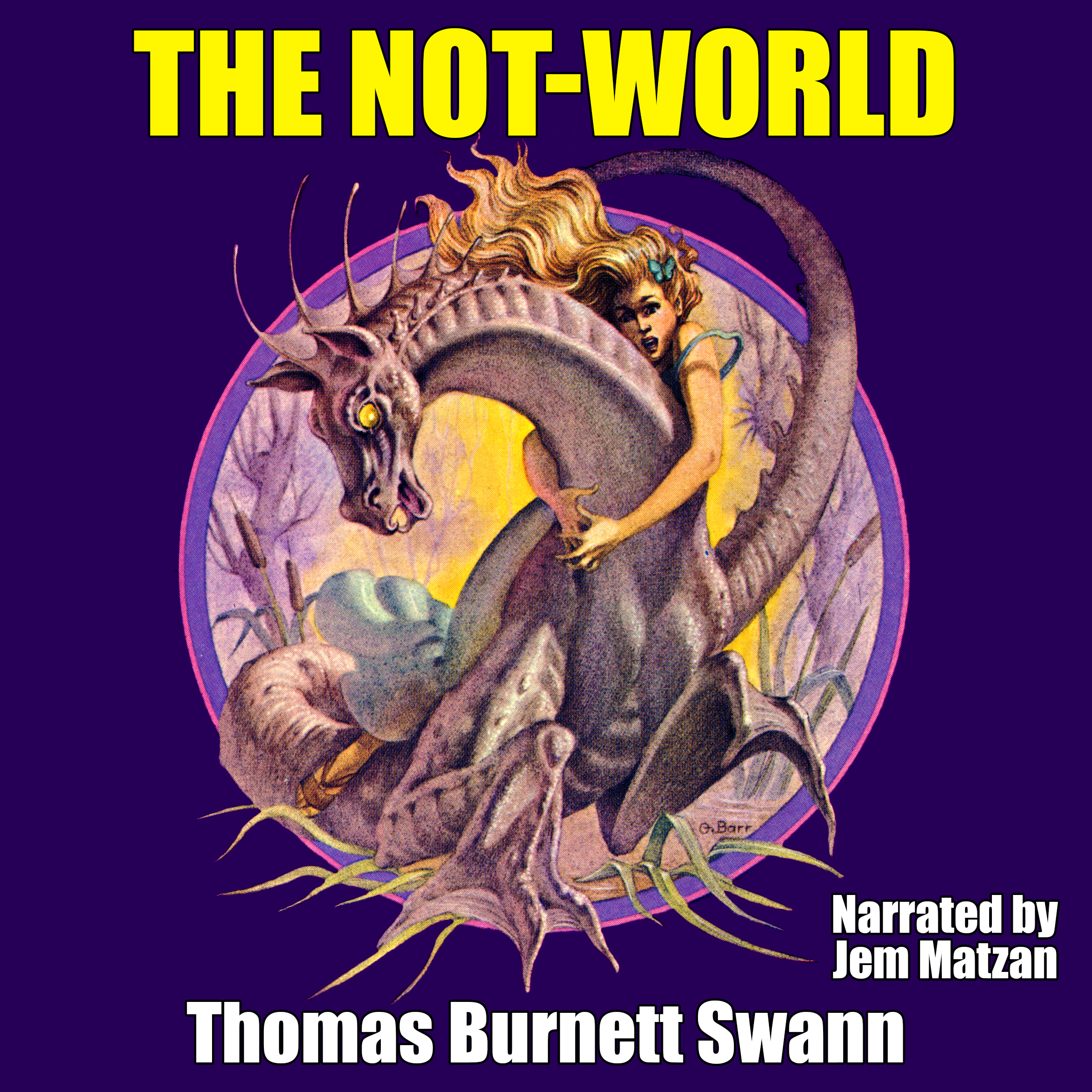 The Not-World fantasy fiction audiobook cover art