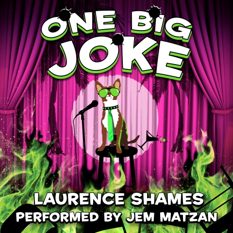 One Big Joke award-winning florida fiction audiobook cover art
