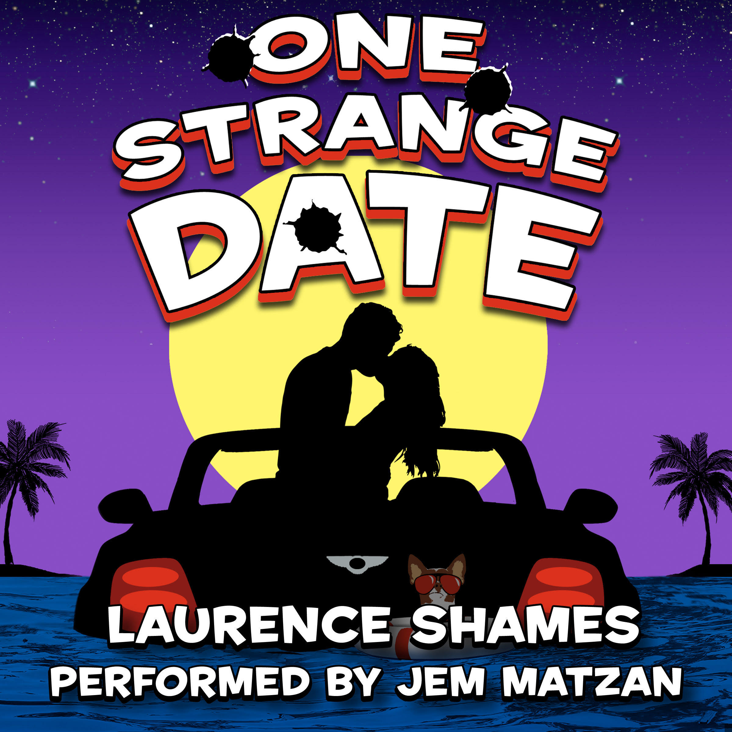One Strange Date Florida fiction audiobook cover art