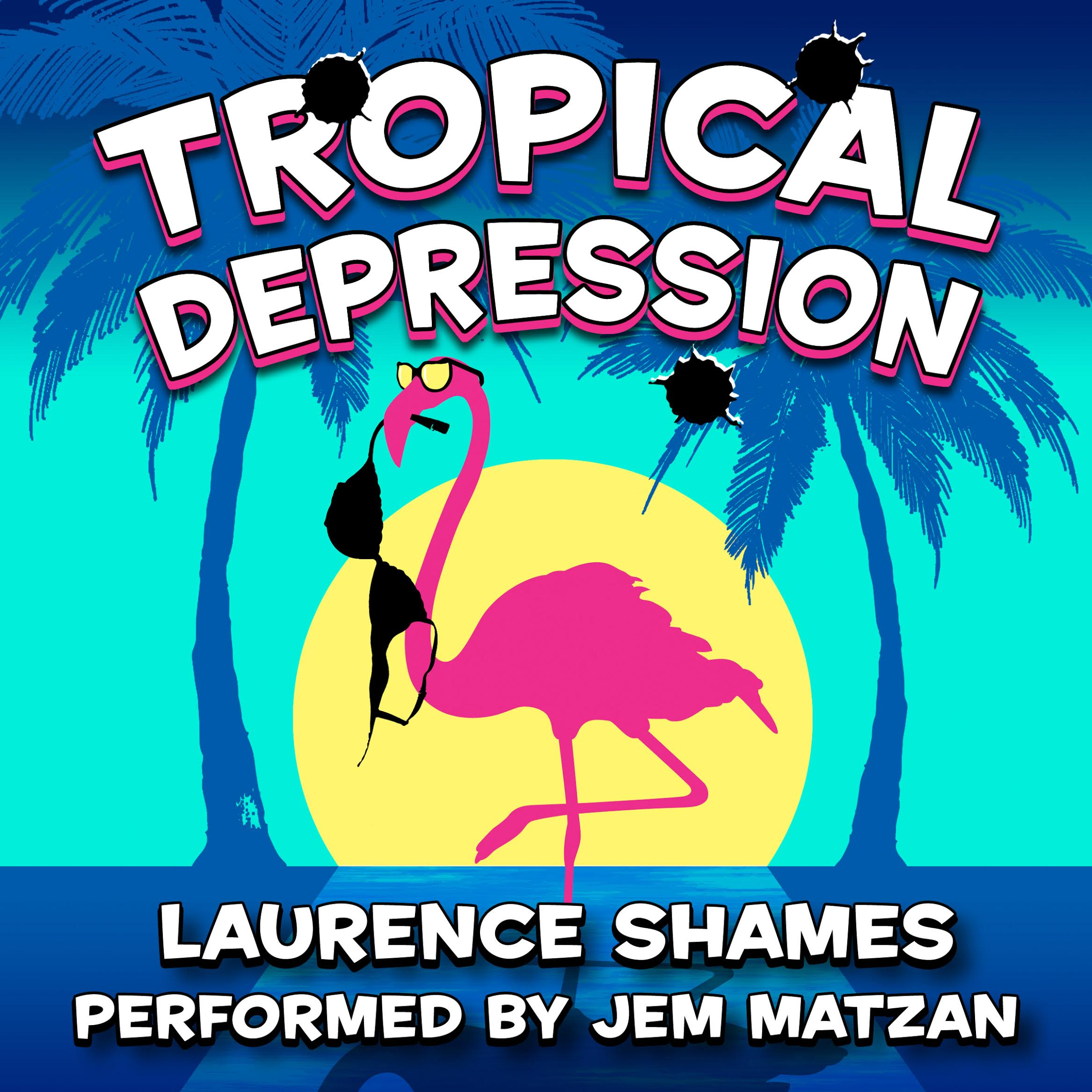 Tropical Depression florida fiction audiobook cover art